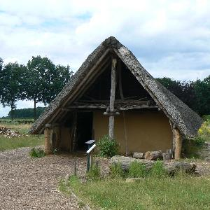 Reconstruction Neolithic farm